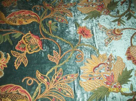 crewel curtain fabric crewel curtains upholstery fabric by kashmir modernart