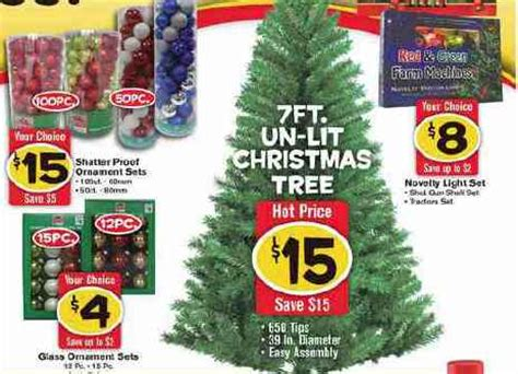 black friday 75 christmas tree freds black friday ad 2014