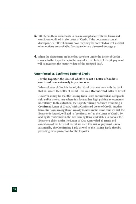Confirmed Letter Of Credit Cost Import Export Guide Letter Of Credit