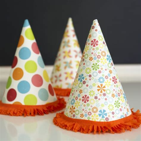 Birthday Decorations Diy by Diy Hats The Sweetest Occasion