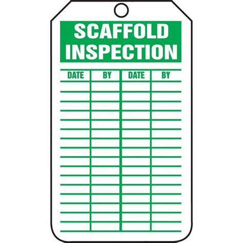 printable scaffold tags image gallery scaffold inspection