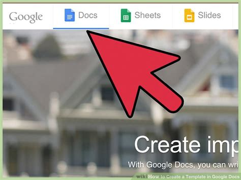 How To Create A Template In Google Docs 13 Steps With Pictures Docs Create Template