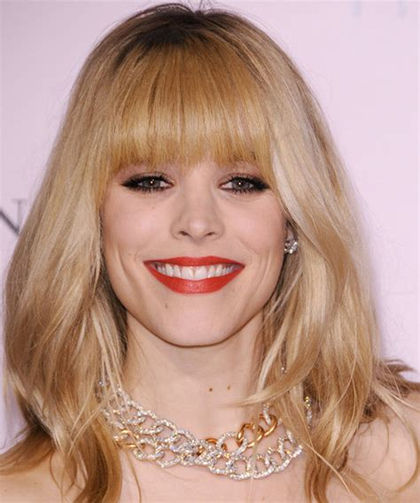 heavy formal hair styles rachel mcadams long straight formal hairstyle with blunt