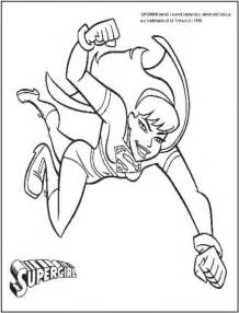supergirl coloring pages free coloring pages of