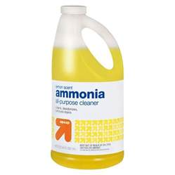 ammonia lemon scent 64 oz up up target
