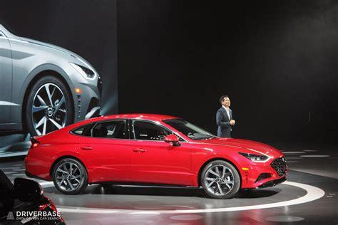 New York Auto Show 2020 Hyundai by 2020 Hyundai Sonata Sedan At The 2019 New York Auto Show