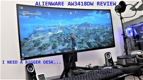 alienware aw3418dw gaming monitor review