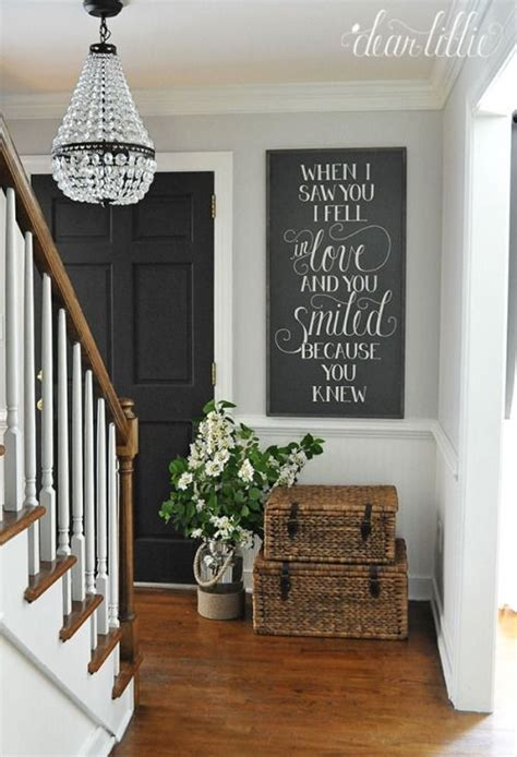 entryway curtains 27 cozy and simple farmhouse entryway d 233 cor ideas digsdigs