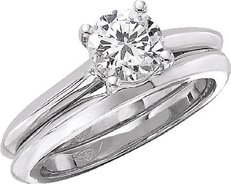 flyerfit knife edge solitaire engagement ring 5137esolke