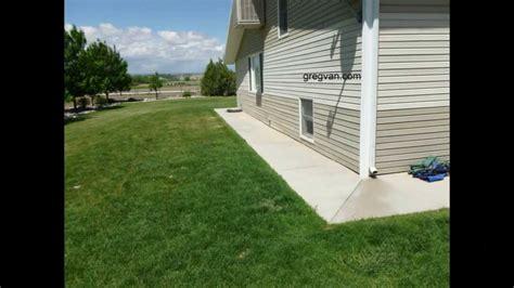 house perimeter concrete walkways around building perimeter can protect