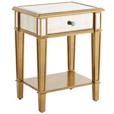 gold nightstand hayworth gold nightstand