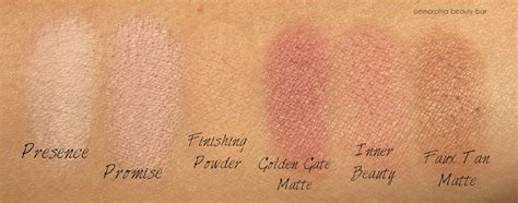 bareminerals golden gate matte bare minerals 183 be beautiful ready and eye palette