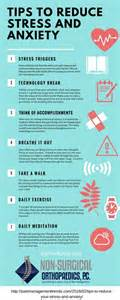 reduce anxiety tips to reduce anxiety and stress infographic pain