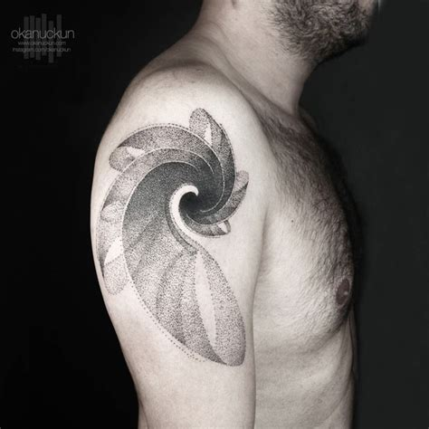 cool upper arm tattoos 40 spiral tattoos on arm
