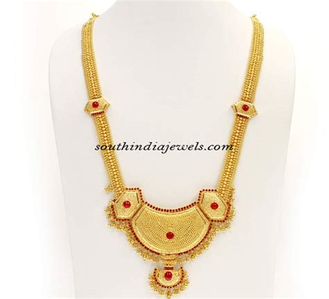 gold necklace designs with kerala chains designs gold images