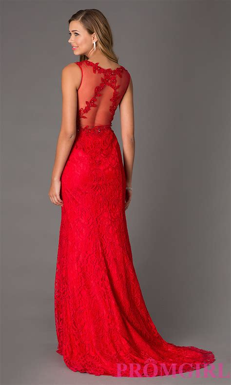 swing prom dresses sleeveless lace dress swing prom gown 3020