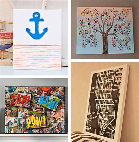 Diy canvas wall art ideas 30 canvas tutorials
