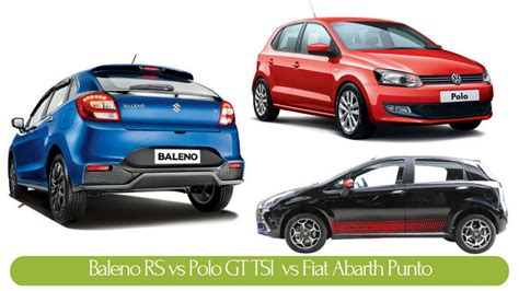 volkswagen tsi vs punto abarth vs polo gti fiat world test drive