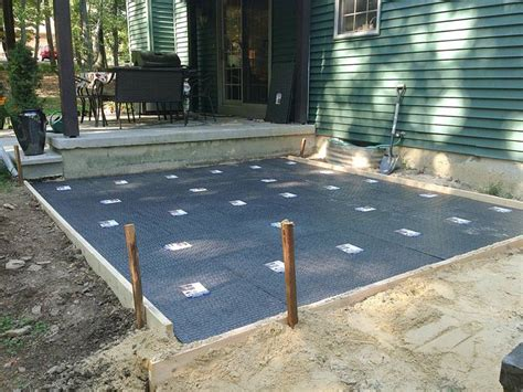 Hot Tub On A Budget Plus How To Install A Paver Patio Installing A Patio With Pavers