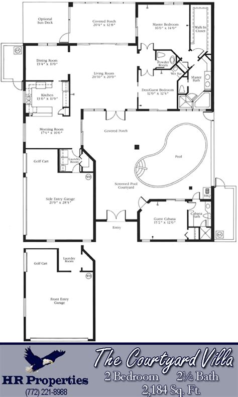 Split Bedroom House Plans harbour ridge yacht amp country club by hr properties