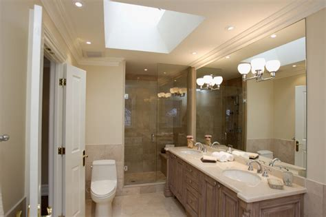 Skylight Bathroom by 50 Beautifully Lit Bathrooms With Skylights Pictures