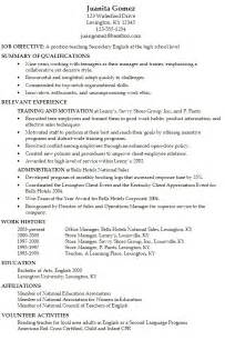 Resume Template For Teens Resume Examples Teenage Resume Template No Work
