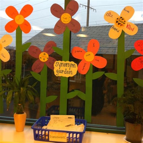 Synonyms For Garden by Synonym Flowers Language Arts Gardens