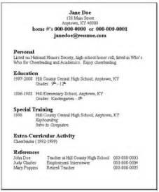 need a resume ridge library