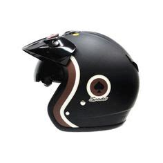 Helm Kyt X Rocket Retro kyt elsico solid retro helm custom motors retro and ps