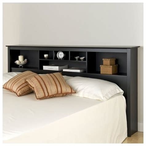 headboard with shelves sonoma storage bookcase king size headboard modern display and wall shelves by wayfair