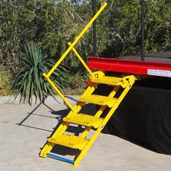 Truck Stairs by Retract A Steps Safe Steps And Stairs For Your Truck Or