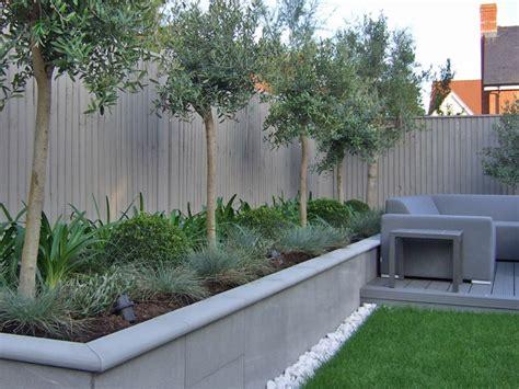 contemporary garden room  greens greys longacres