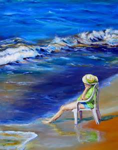 Relaxing Painting Videos Relaxing On The Outer Banks By Diane Kraudelt
