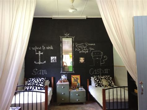 Boys Bedroom Chalkboard Wall A New Room For My Little Dude Pinter