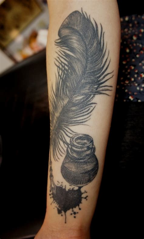 tattoo ink and quill 7 clever tattoos for people who love literature lifestyle