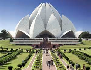 Lotus Religion Stunning Floral Inspired Religious Building The Lotus