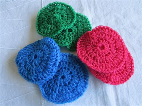 knitted scrubbies netting large crocheted netting scrubbies pot scrubbers
