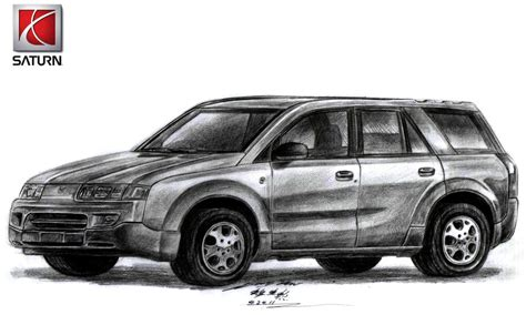 nissan saturn 2002 saturn vue 2002 suv drawing by toyonda on deviantart
