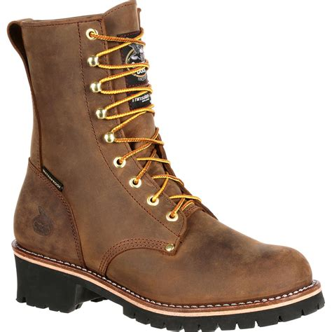 insulated steel toe boots boot steel toe waterproof insulated logger work