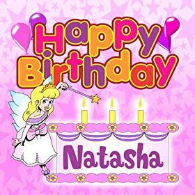 happy birthday mp3 download with name amazon com happy birthday natasha the birthday bunch