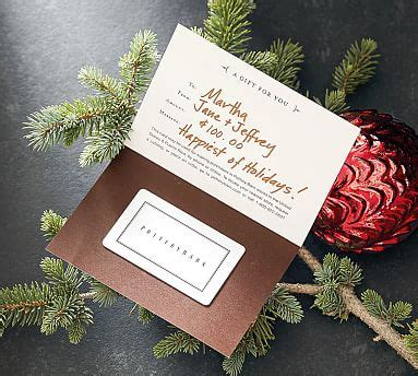 Pottery Barn Teen Gift Card - pottery barn gift cards pottery barn