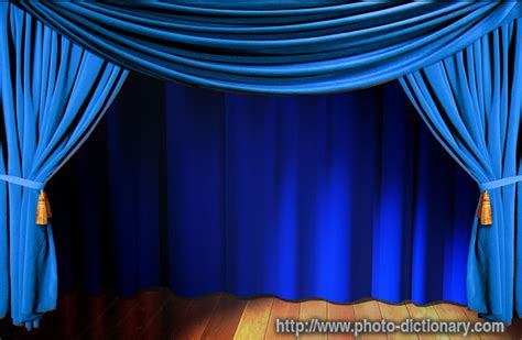 define draperies curtain photo picture definition at photo dictionary