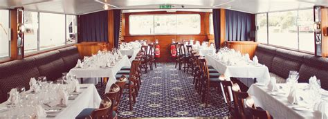 dinner on a boat on the thames thames voyager boat thames boat hire london