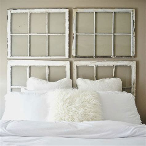Easy Diy Headboard Diy Window Headboard Diy Headboard