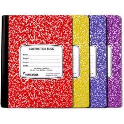 Floor And Decor Warehouse wholesale assorted colored marble composition book sku