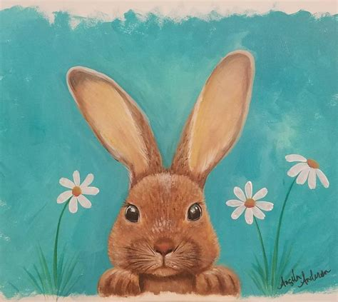 watercolor rabbit tutorial 421 best crafty painting ideas images on pinterest