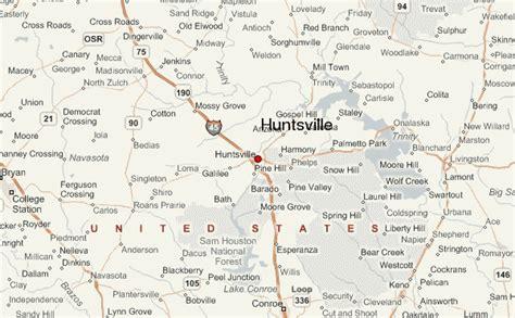 map of huntsville texas huntsville texas location guide