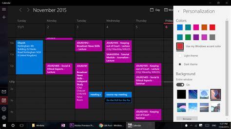 Calendar App Windows Windows 10 In Depth Calendar App On Msft