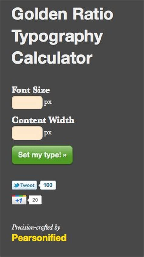 design gimmicky meaning golden ratio typography calculator design goodness
