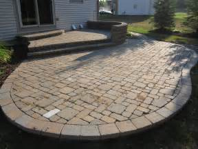 Patio With Pavers Brick Pavers Canton Plymouth Northville Arbor Patio Patios Repair Sealing